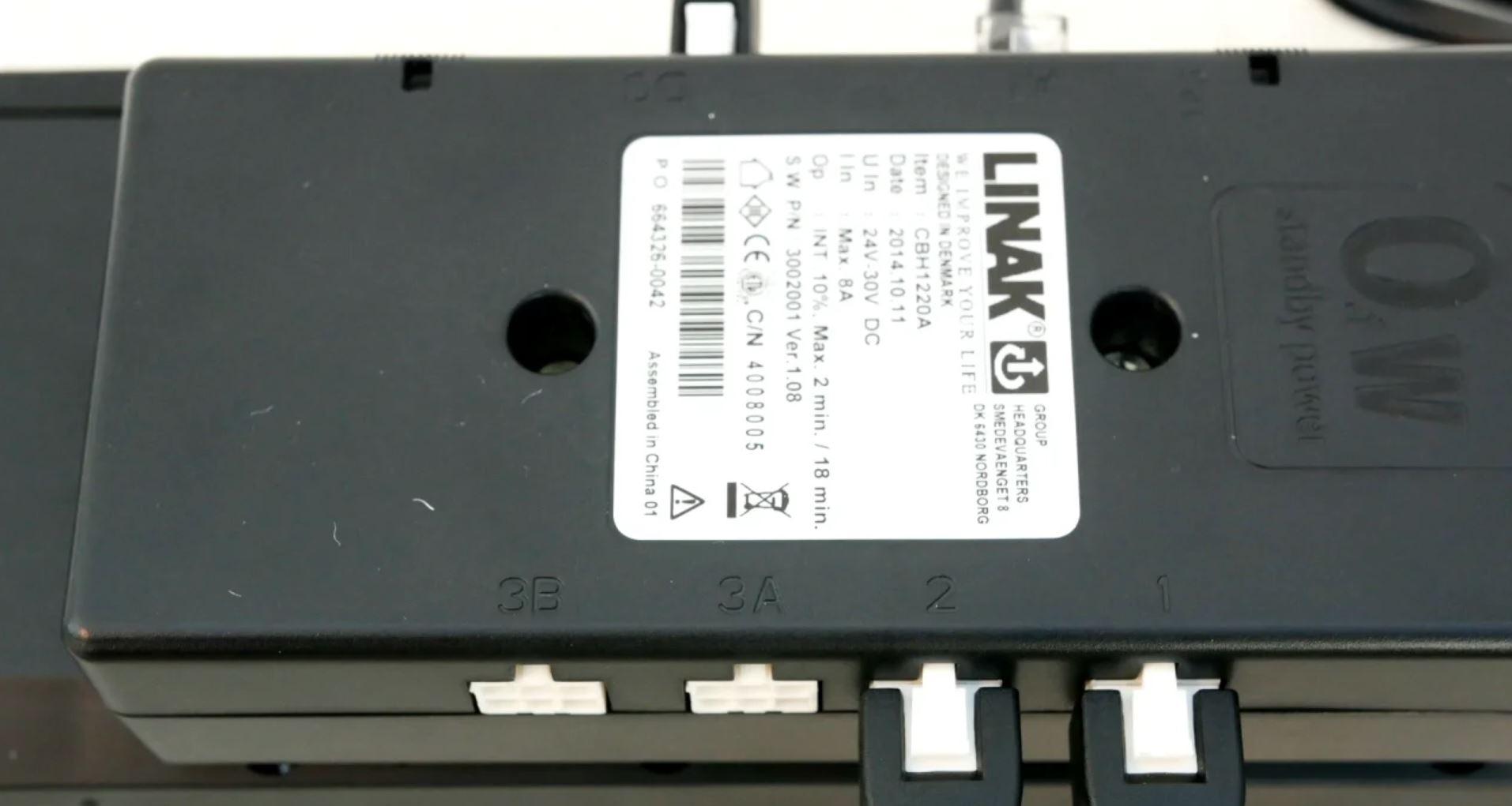 Система регулировки, включающая привод TD4 и блок управления CBH