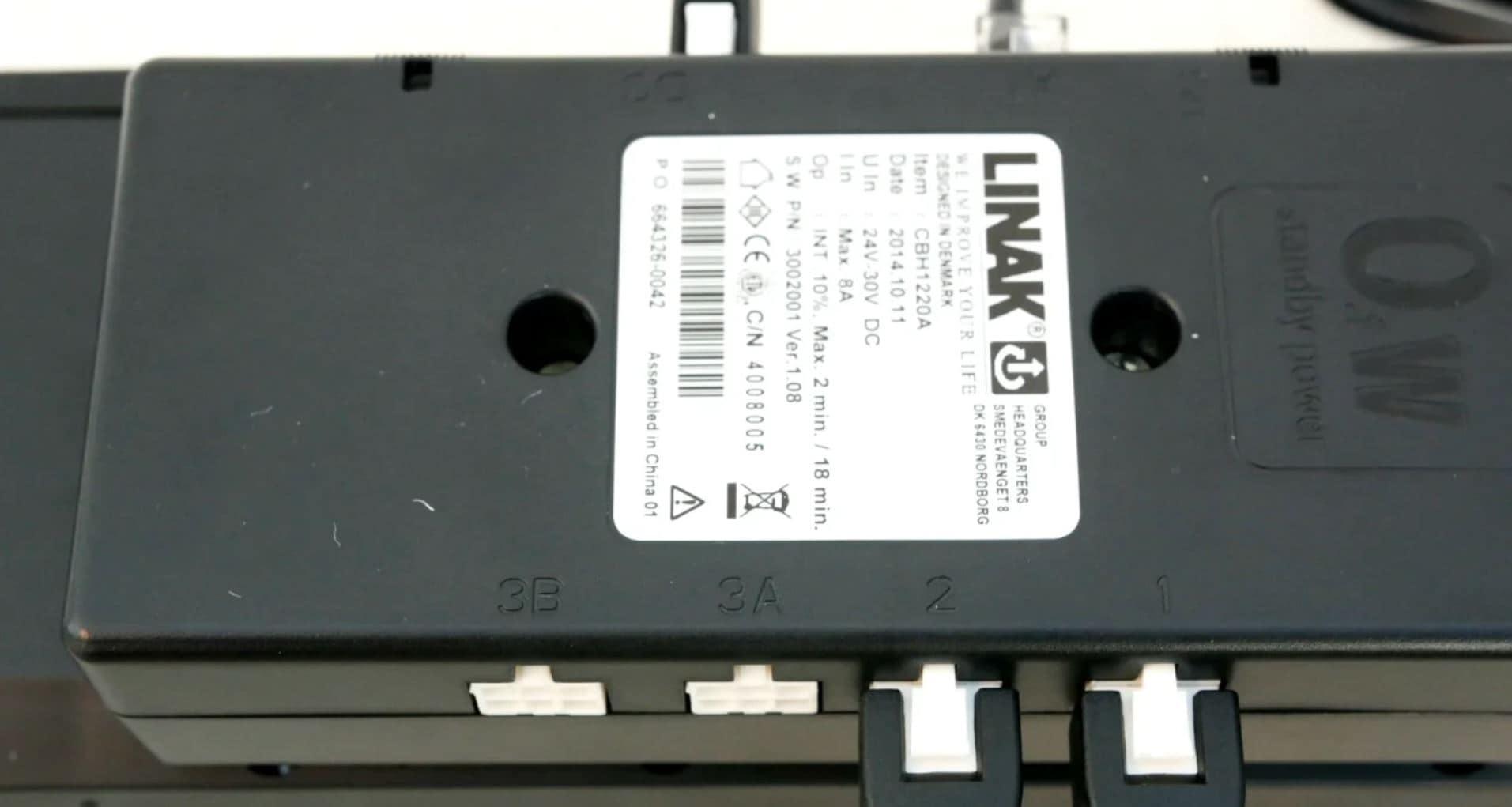 Combine um atuador TD4 com uma caixa de comando CBH