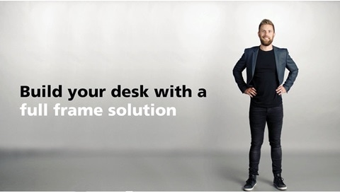 Lansering av Desk Frame 1