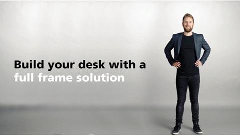 Vi introduserer Desk Frame 1