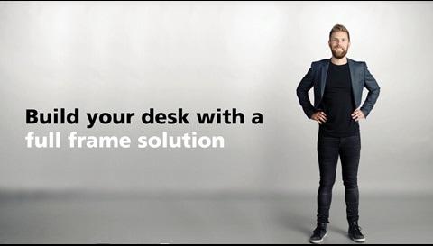 Lancering af Desk Frame 1