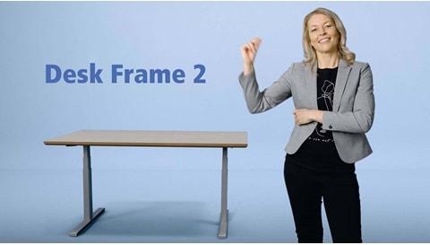 Desk Frame 2 the intuitive frame solution