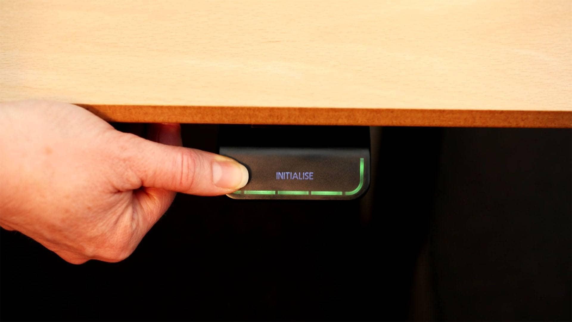 DPG - Sådan nulstilles og justeres bordet