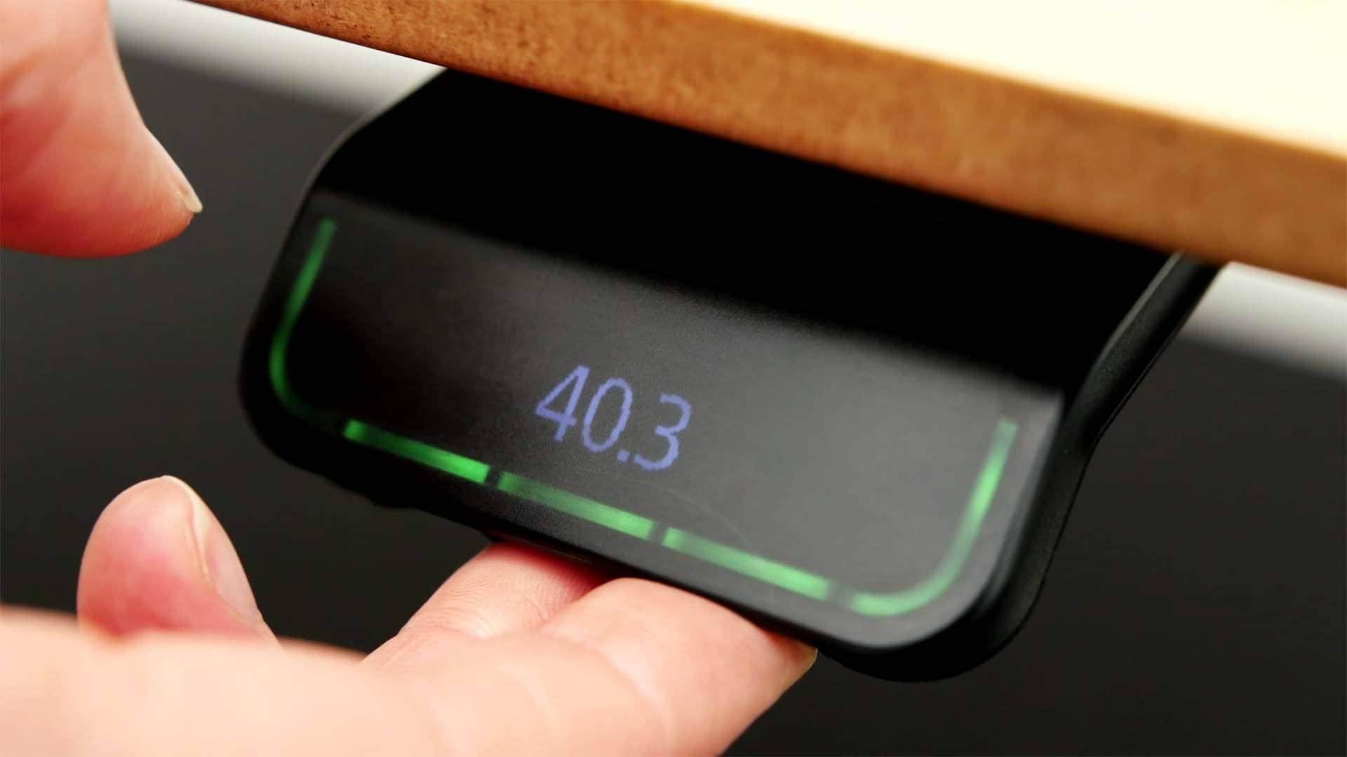 DPG - 책상 자체의 높이를 올바르게 설정하는 방법