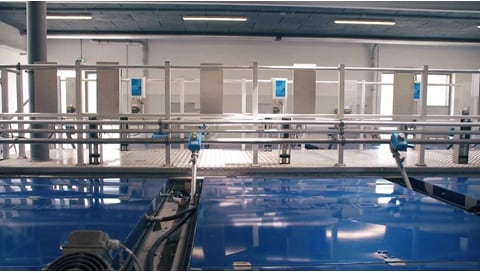 Electric actuators in wastewater treatment applications - Salsnes filters™