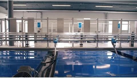 Siłowniki elektryczne do zastosowań związanych z oczyszczaniem ścieków – filtry Salsnes™