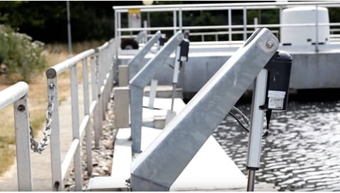 Řešení elektrického pohybu ventilů pro efektivní nakládání s odpadními vodami