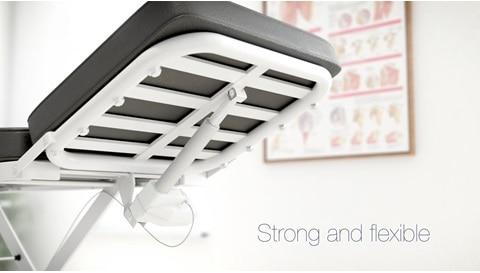 Lettini e tavoli di trattamento ergonomici e di design