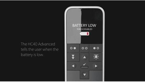 HC40 Skifte av batterier