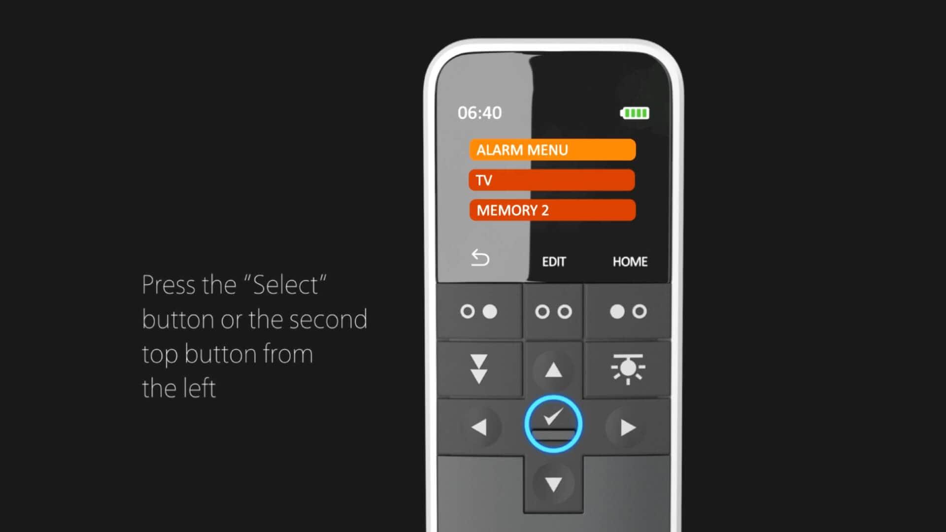 HC40 Come salvare le scelte rapide sul display