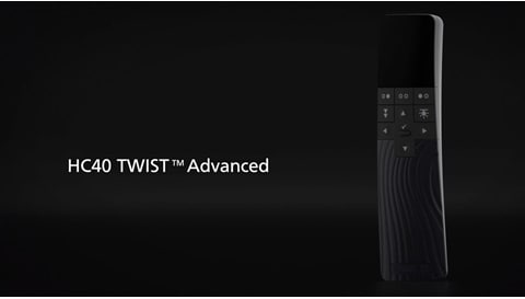 LINAK handbediening HC40 TWIST™ voor verstelbare comfortbedden