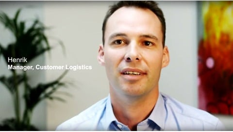 Henrik, Manager in Customer Logistics at LINAK A/S