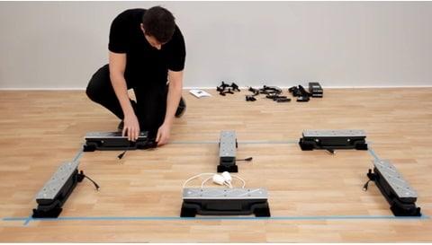Wie Sie ein Baselift-System von LINAK in einer Küche montieren