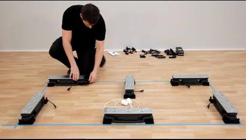 LINAKのBaseliftシステムをキッチンに取り付ける方法
