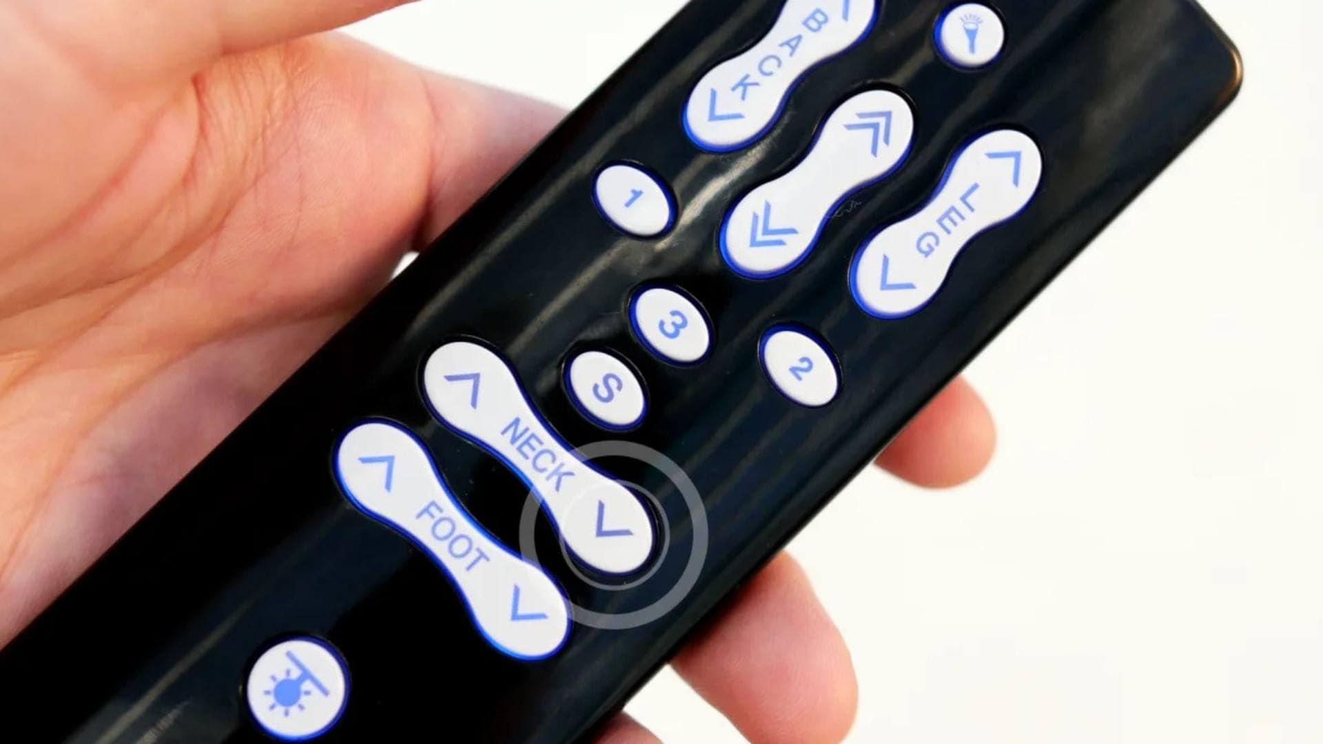Een enkelvoudig LINAK® actuatorsysteem initialiseren voor comfortbedden
