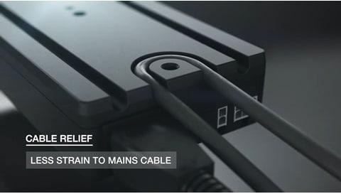 Intuitiv montering af elektriske systemer med DESKLINE® CBD6S kontrolboks