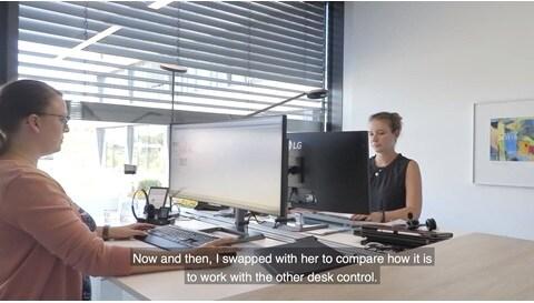 사례 연구: 사무실 책상을 위한 높낮이 알림 기능의 효과 측정