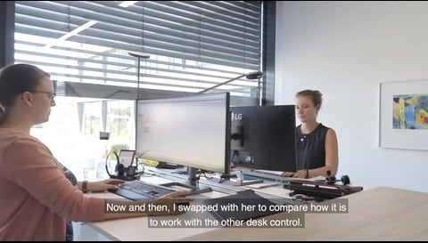 Case study: Measuring the effects of sit-stand reminders for office desks