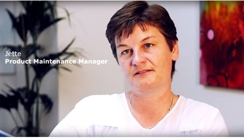 Jette, Product Maintenance Manager på LINAK A/S