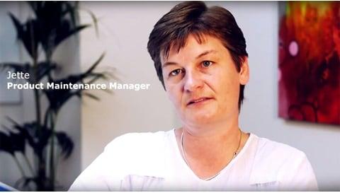 Jette, Product Maintenance Manager hos LINAK A/S