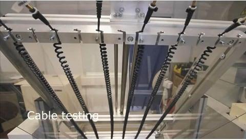 LINAK - grundig test af lineære aktuatorsystemer på det avancerede testcenter hos LINAK