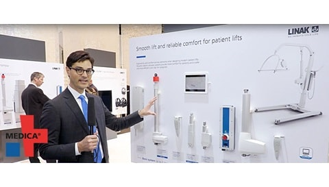 LINAK at the 2017 MEDICA trade fair