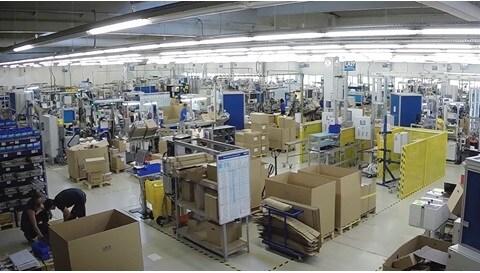 Bak kulissene: LINAK® produserer dobbelaktuatorer i Slovakia