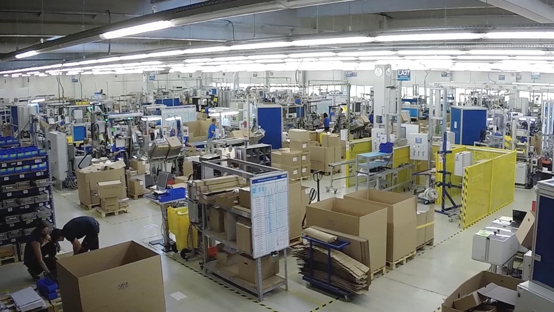 Perde arkası: Slovakya'da LINAK® dual aktüatör üretimi