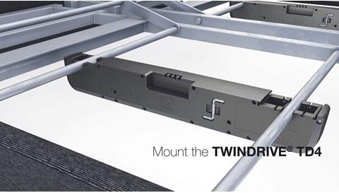 LINAK TWINDRIVE® TD4 장착