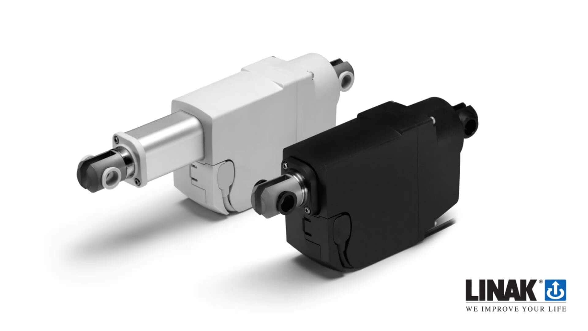 la23 compact and strong electric push and pull actuator rh linak com