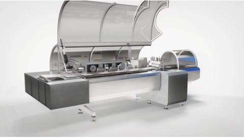 LINAK 전동 액추에이터 - 포장 기계의 정확한 움직임
