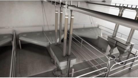 Řešení pohonů LINAK® – automatizované zemědělské krmné systémy pro optimalizovanou produkci
