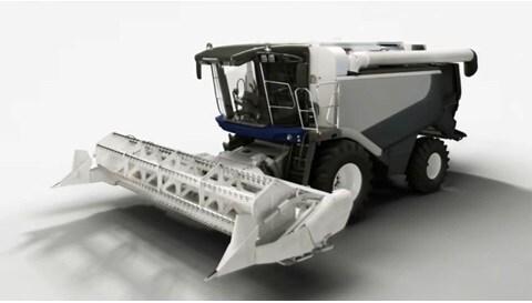 Решения с линейными актуаторами для зерноуборочных комбайнов
