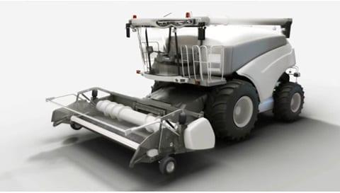 Soluciones de actuador lineal para cosechadoras de forrajes