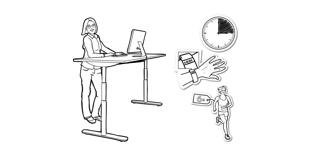 LINAK guide to how to change sedentary behaviour and move