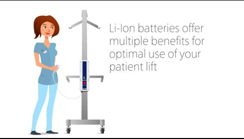The advantages of LINAK lithium ion batteries for mobile healthcare equipment
